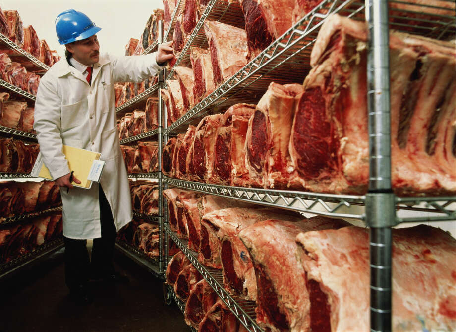 The administration has announced plans to furlough 2,100 food inspectors. That could lead to delays in inspecting meat, producing spot shortages over time and increasing the chance of food-borne illness. Photo: Vito Palmisano, Getty Images / (c) Vito Palmisano