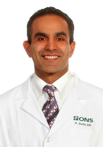 "On March 13, from 6:30 to 7:30 p.m., ONS Orthopedic Surgeon Dr. Paul Sethi kicks off a Greenwich Hospital Mini-Med Seminar Series with ""Let's talk about Joints: Degenerative Joint Disease; Causes, Symptoms and Treatments,"" in the Noble Conference Center at 5 Perryridge Road. Free but call to register at 203-863-4277 or 888-305-9253. Photo: Contributed Photo"