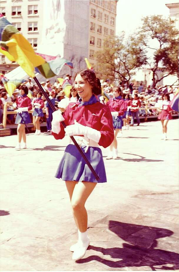Lassos march in the 1982 Battle of Flowers parade. Photo: Courtesy Photo,      Lasso Alumni Association