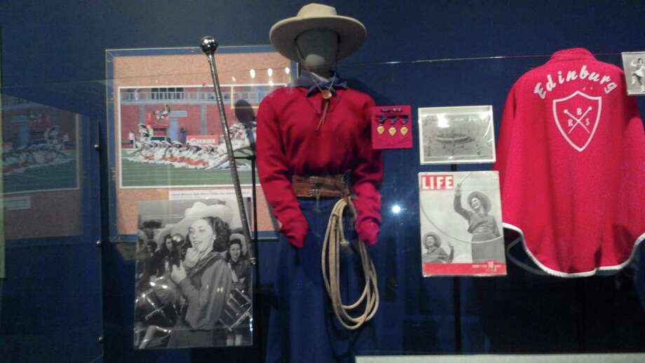 "The Lassos' section of the ""Texas High School Football: More Than the Game"" exhibit at the Bullock Texas State History Museum in Austin. Photo: Courtesy Photo,      Lasso Alumni Association"