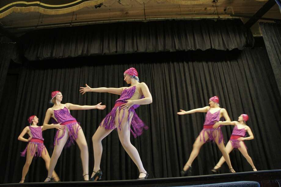 The Maude BAUM & COMPANY dancers perform at the eba Benefit Cabaret and Silent Auction