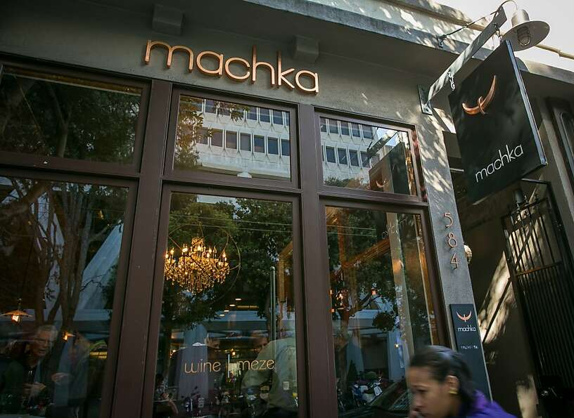 The exterior of Machka restaurant in San Francisco, Calif. is seen on Monday, February 25th 2013.