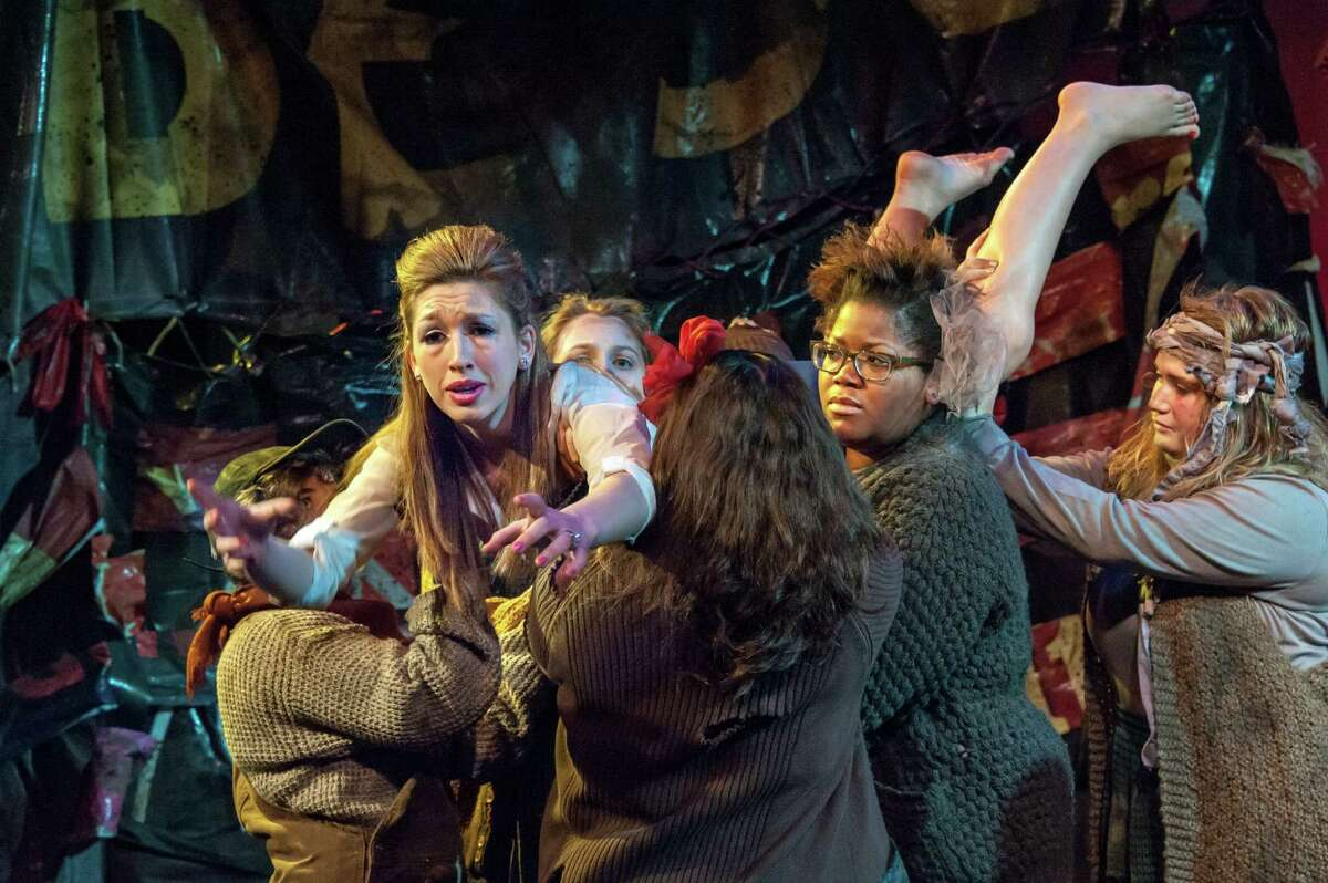 """Theater director Leigh Strimbeck, a Russell Sage College artist-in-residence, is reimagining Euripedes' """"The Trojan Women"""" from the ground up, and she's placing the ancient tale in a post-apocalyptic version of Troy, just across the river. It runs at 2 and 8 p.m. Friday, 8 p.m. Saturday and 2 p.m. Sunday at the college in Troy. Click here for more information."""