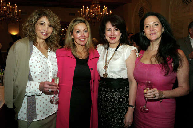 Belinda Molina (from left), Andi Rodriguez, Marian Suarez and Tracey Curran-Herman Photo: LELAND A. OUTZ, For The Express-News / SAN ANTONIO EXPRESS-NEWS