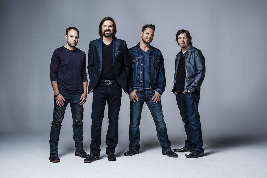 Third Day (L-R): David Carr, Mac Powell, Tai Anderson, Mark Lee  (Photo By: Lee Steffen)
