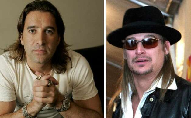 Scott Stapp and Kid Rock found themselves in the midst of scandal when a tape was released of the twosome having sex with four groupies.