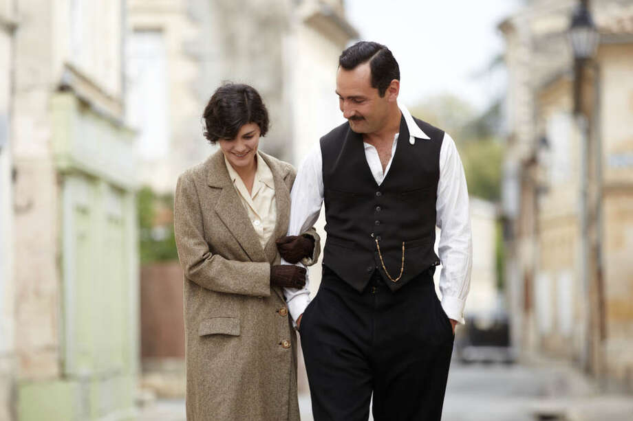 "Audrey Tatou and Gilles Lellouche star in ""Thérèse Desqueyroux,"" one of the films featured at Focus on French Cinema at Purchase (N.Y.) College March 8-10. Photo: Contributed Photo"