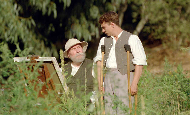 "Michel Bouquet and Vincent Rottiers star in ""Renoir,"" one of the films featured at Focus on French Cinema at Purchase (N.Y.) College March 8-10. Photo: Contributed Photo"