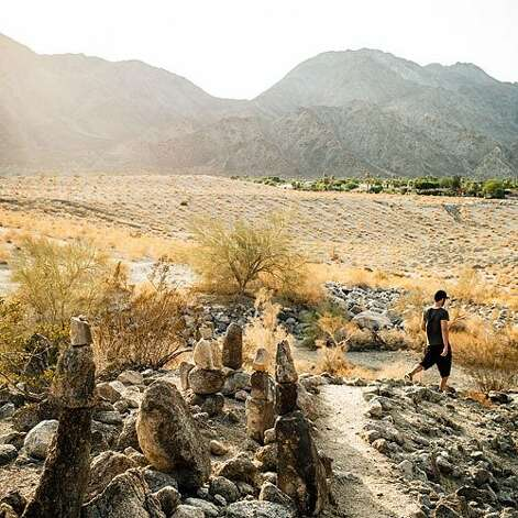 For adventurous trekkers: La Quinta, CA  Coachella Valley is home to the Santa Rosa Mountains, where granite, desert flora, and sweeping views surround primo hiking. And La Quinta, 25 miles southeast of Palm Springs, is a great entryway for hikers: Take the Cove to Lake Trail, a 2.5-mile one-way trek. Or, for serious burn, consider the strenuous 7.5-mile Boo Hoff Trail. Download a map at la-quinta.org Best time to go: March and November, when moderate temperatures make for supreme hiking weather.  Stay: La Quinta Resort & Club—once a favorite hideaway for Clark Gable, Katharine Hepburn, and Greta Garbo—has cozy casitas, 41 pools, and a James Beard award–winning chef at its Morgan's restaurant. From $249; laquintaresort.com