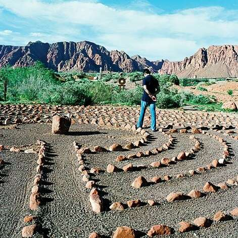 For art fiends: Kayenta, UT Eye candy abounds in this southern Utah desert oasis. An artists' village boasts a cluster of galleries, shops, and a cafe with a backdrop of red rock mountains and desert gardens. You can try your hand at pottery, or browse local wares. The ultimate local experience? A peaceful sunset stroll through the Desert Rose Labyrinth (pictured) and its adjoining sculpture garden dotted with works by the area's masters.