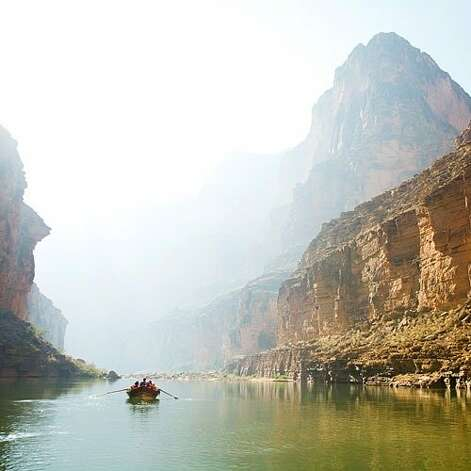 "For life-list adventurers: Grand Canyon National Park, AZ  Paddling through the Grand Canyon is one of the great adventures you can have in your lifetime. The raft floats beneath towering rock walls apparently colored using the largest box of crayons in the universe. You trail your arm in the cool river, and the water is heaven. The current speeds up and your guide shouts, ""Hold on!"" because you're approaching one of the rapids that would make the World River Rapids Hall of Fame if there were such a thing. The raft spins, buckles, cold water floods in on you, but amazingly the raft doesn't flip over and you don't fall out and you realize that every adventure you ever had in your life was just preparation for this one. Plus the fun continues beyond the river with some of the world's most epic hiking. 