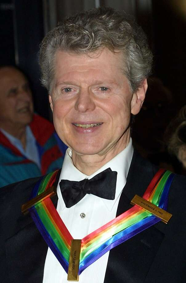 American Classical Pianist Van Cliburn, 78, died of bone cancer on February 27, 2013 in Fort Worth, Texas. 398059 10: Pianist Van Cliburn arrives at the annual Kennedy Center Honors Gala December 2, 2001 at the Kennedy Center in Washington, DC. Cliburn is one of the five recipients honored. Photo: Alex Wong, Getty Images