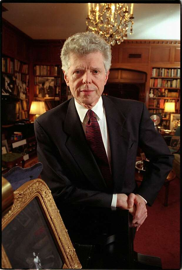 This is an undated photo of pianist Van Cliburn in his home on the west side of Ft. Worth, Texas. Photo: Ralph Lauer, Associated Press