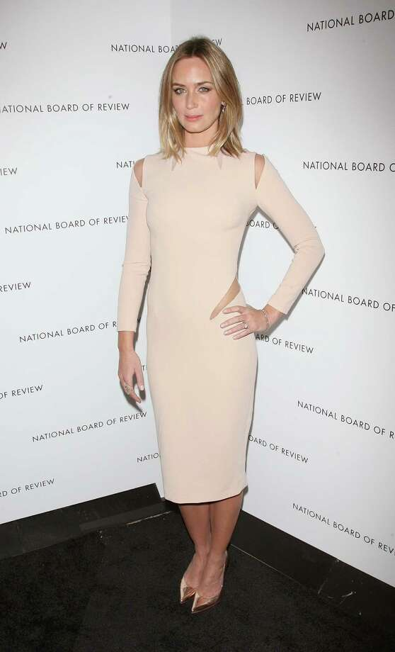 Actress Emily Blunt attends the 2013 National Board Of Review Awards Gala at Cipriani Wall Street on January 8, 2013 in New York City. Photo: Jim Spellman, WireImage / 2013 Jim Spellman