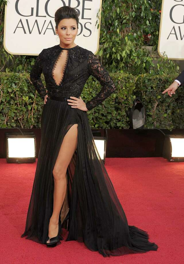 Eva Longoria arrives at the 70th Annual Golden Globe Awards at The Beverly Hilton Hotel on January 13, 2013 in Beverly Hills, California. Photo: Steve Granitz, WireImage / 2013 Steve Granitz