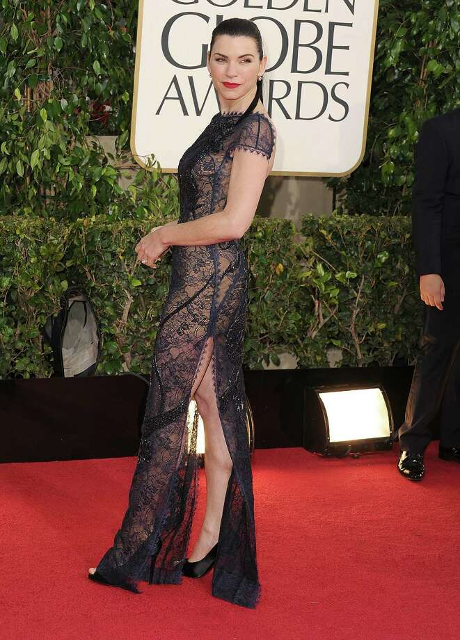 Julianna Margulies arrives at the 70th Annual Golden Globe Awards at The Beverly Hilton Hotel on January 13, 2013 in Beverly Hills, California. Photo: Steve Granitz, WireImage / 2013 Steve Granitz