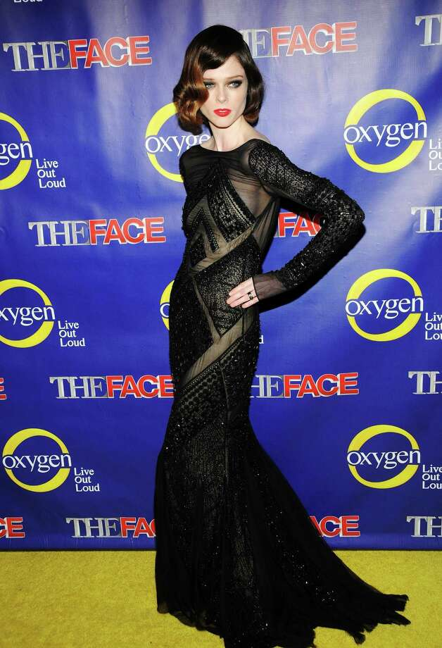 "Model Coco Rocha attends ""The Face"" Series Premiere at Marquee New York on February 5, 2013 in New York City. Photo: Desiree Navarro, WireImage / 2013 Desiree Navarro"