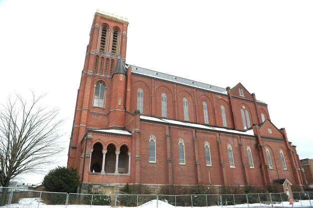 A view of the former St. Patrick's Church building seen here on Wednesday, Feb. 27, 2013 in Watervliet, NY.  (Paul Buckowski / Times Union) Photo: Paul Buckowski