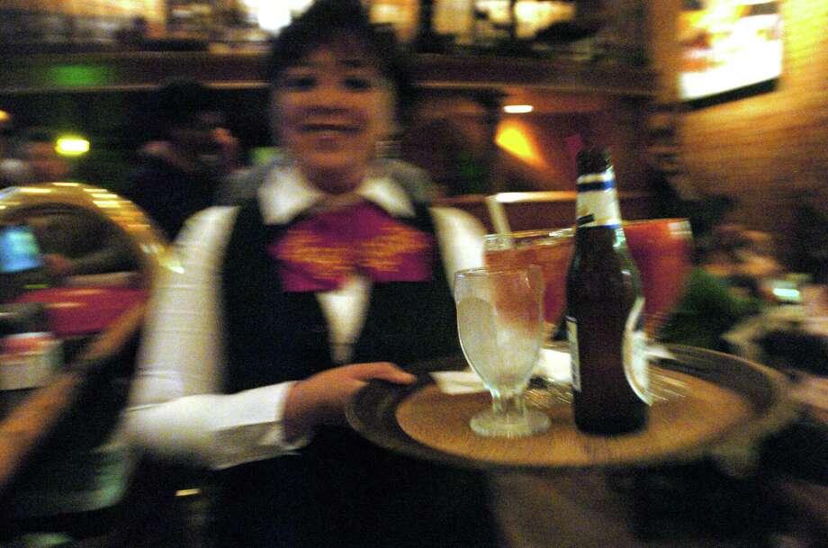 Sooth your margarita craving at Mariachi Bar inside Mi Tierra restaurant, 218 Produce Row. Photo: DELCIA LOPEZ, SAN ANTONIO EXPRESS-NEWS / SAN ANTONIO EXPRESS-NEWS