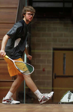 Brunswick squash player Hayes Murphy. Photo: Contributed Photo