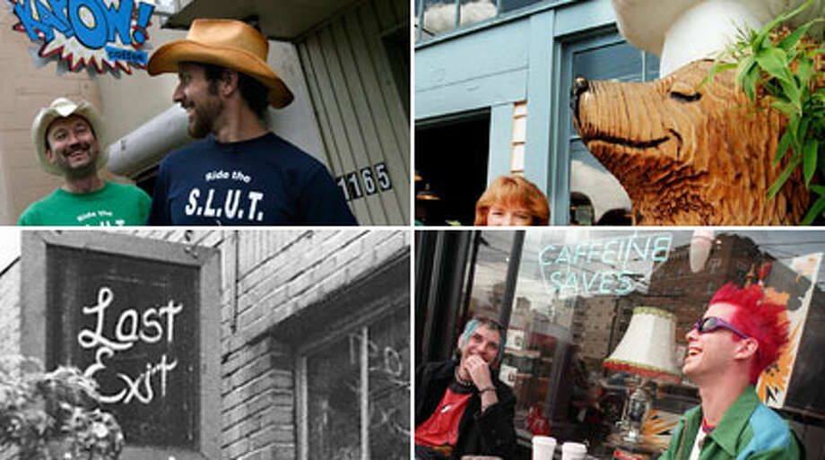 Here's some of our favorite coffee shops in Seattle over the years, all now gone (or moved). Recognize any of them?