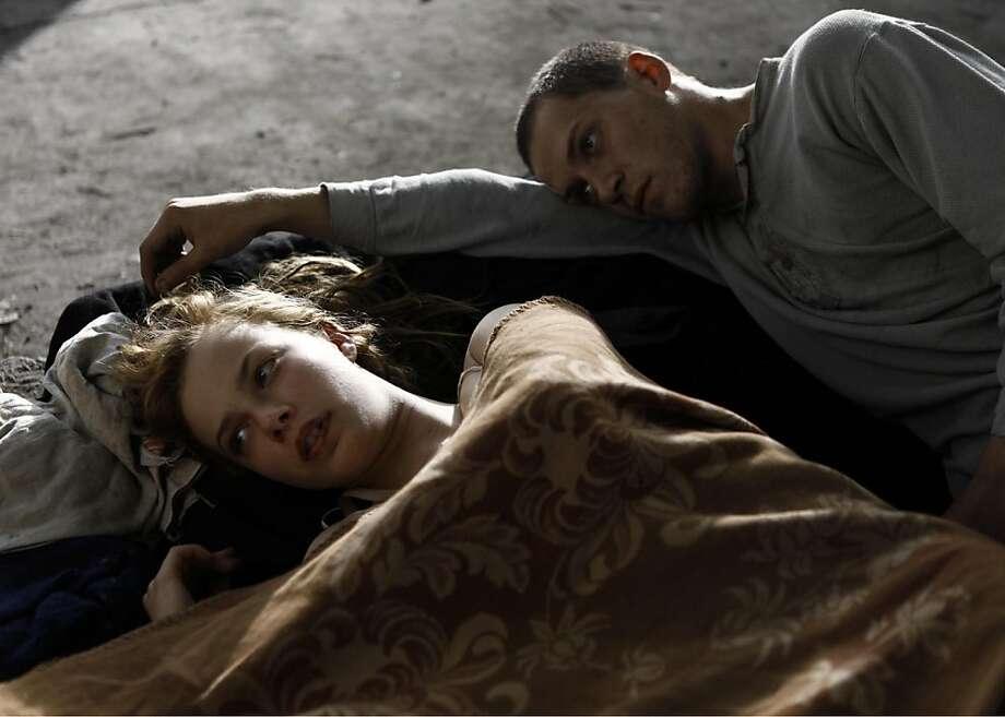 "Saskia Rosendahl (left) and Kai Malina star in Cate Shortland's ""Lore."" Photo: Music Box Films"