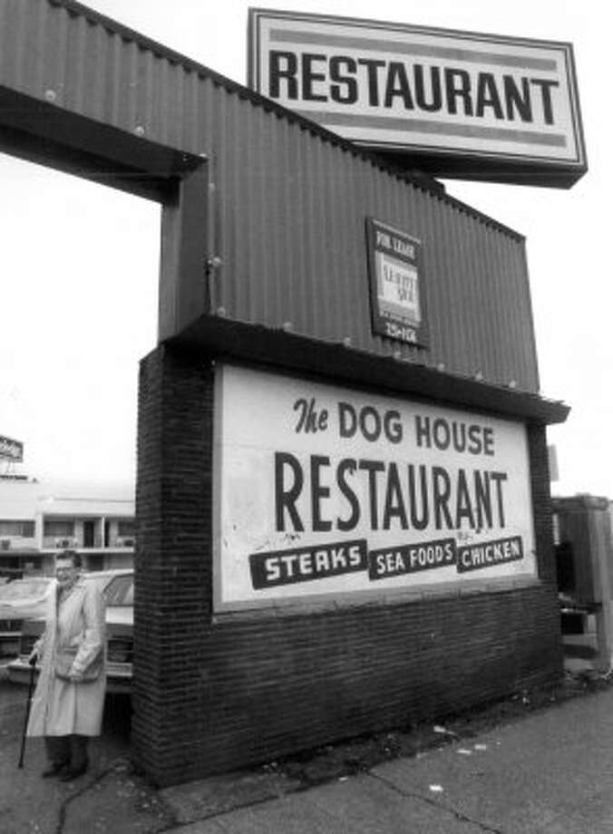15. When the 24-hour Dog House restaurant and bar closed in 1994, it was a passing of an era. KCTS broadcast its last day live, and Seattle PI columnist Jon Hahn wrote it was ''an epoch of Seattle history'' for its continuous ''run of food, booze, music and fellowship.'' Pictured is Laurie Gulbransen, who ran the Dog House for nearly 60 years. Photo: Seattle Post-Intelligencer