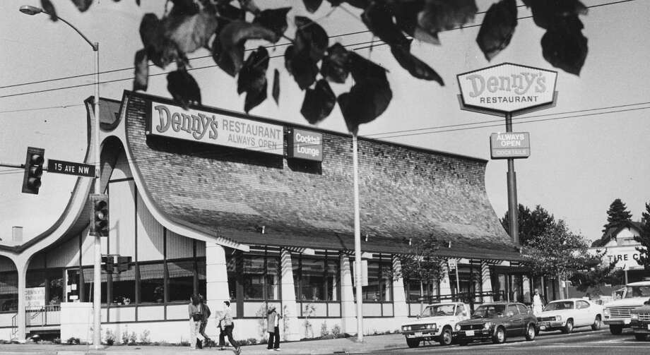 19. Denny's in Ballard was demolished in 2008, after a battle to save the distinctive building at 15th and Market. It replaced Manning's Cafeteria in 1983, before Ballard filled up with condos and hip boutiques. Photo: Phil H. Webber / Seattle Post-Intelligencer