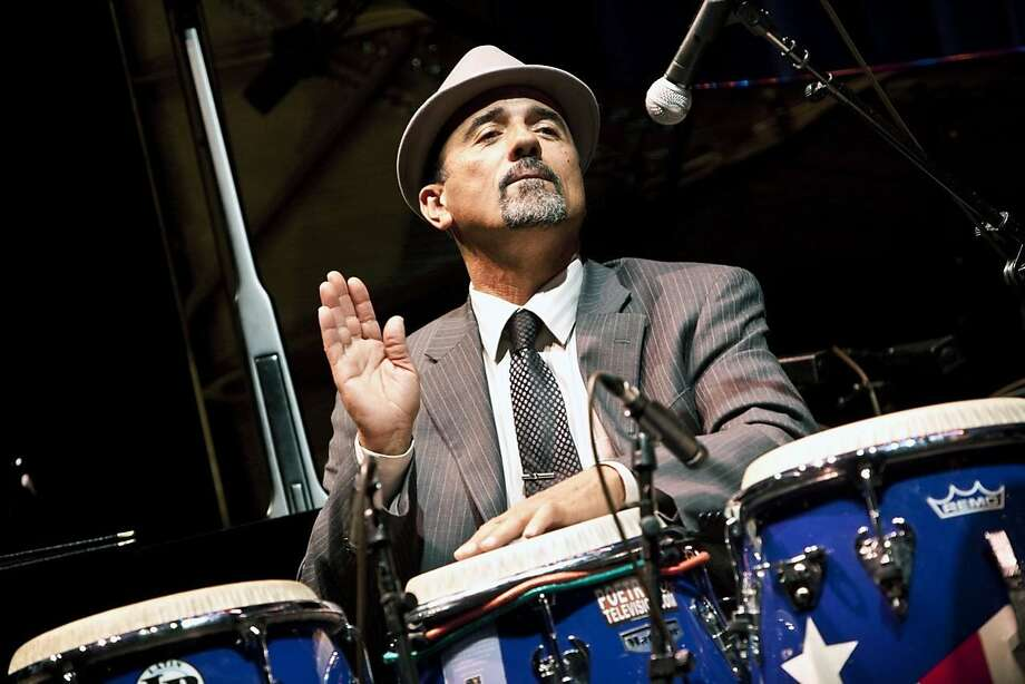Latin jazz musician John Santos Photo: Tom Ehrlich