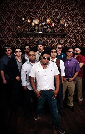 "San Antonio's ""barrio big-band"" Bombasta will be at Sam's Burger Joint Friday alternating sets with El Paso's Radio La Chusma for what's being billed as ""Barrio Massive."" Photo: Courtesy Photo"