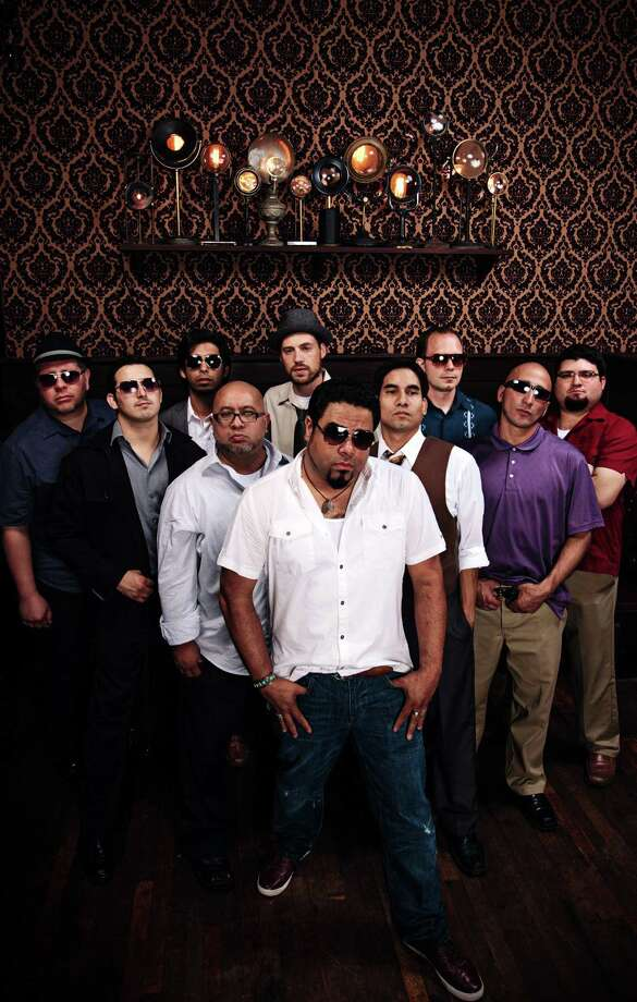 """San Antonio's """"barrio big-band"""" Bombasta will be at Sam's Burger Joint Friday alternating sets with El Paso's Radio La Chusma for what's being billed as """"Barrio Massive."""" Photo: Courtesy Photo"""