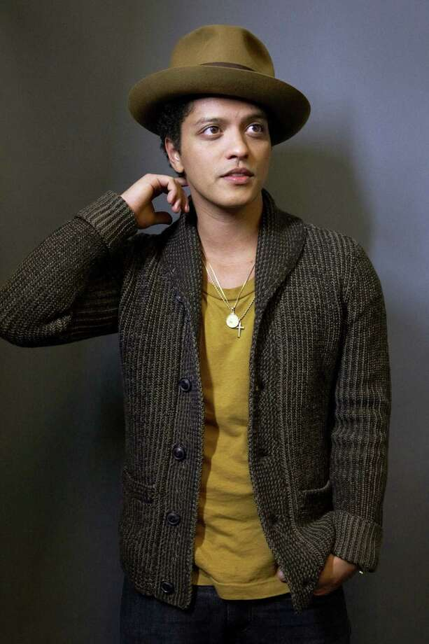 Bruno Mars plays Aug. 14 at Austin's Frank Erwin Center. Photo: Associated Press