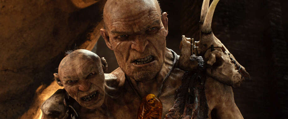"Gen. Fallon (voiced by Bill Nighy) and his smaller head (voiced by John Kassir) appear in ""Jack the Giant Slayer."" Photo: Warner Bros. Pictures"