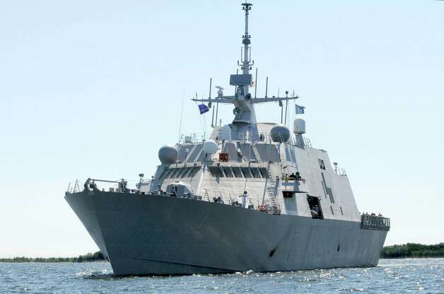 The USS Freedom is scheduled to operate forward from Singapore over the next eight months, conducting maritime security operations, taking part in international exhibitions and exercises to highlight U.S. strategic intent in the region, and reassuring U.S. partners of interoperability. The ship also needs to prove itself, given that the Littoral Combat Ship program has been plagued by structural problems and cost overruns. Click on for pictures of the other two littoral combat ships that have been built, plus more of the world's most unusual looking ships, plus a few boats. Photo: Handout, Getty Images / 2008 Lockhead Martin