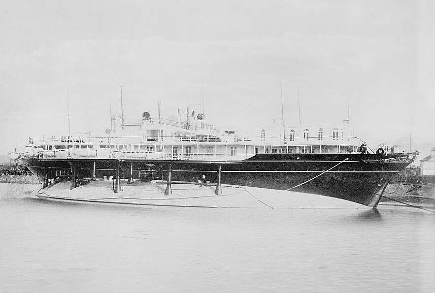 The Livadia was an imperial Russian yacht built in 1879 and 1880. She was designed for stability, wi