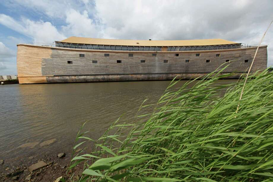 Dutch builder Johan Huibers built this replica of Noah's Ark in Dordrecht, Netherlands. Translating cubits to modern measurements, Huibers made the ark 427 feet long,  29 feet wide and 75 feet high. Photo: ANOEK DE GROOT, AFP/Getty Images / 2011 AFP