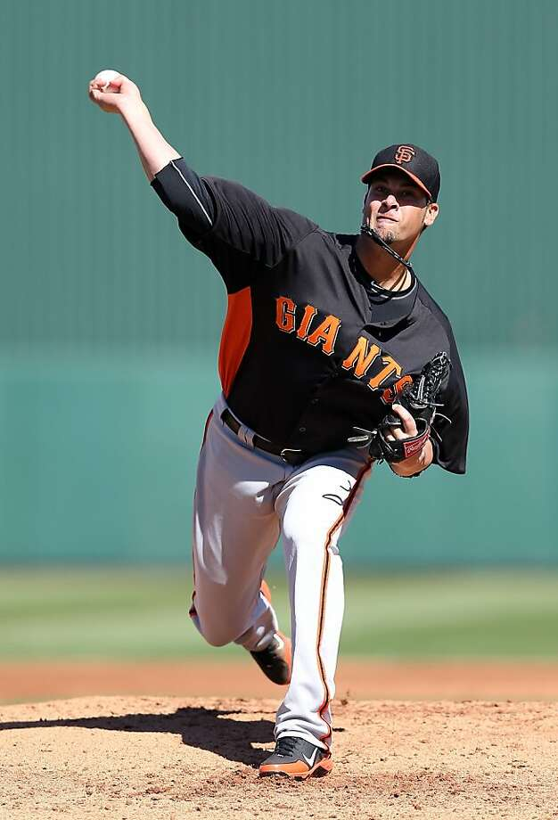 Ryan Vogelsong retired his final eight hitters Wednesday. He will pitch for the United States in the World Baseball Classic. Photo: Christian Petersen, Getty Images