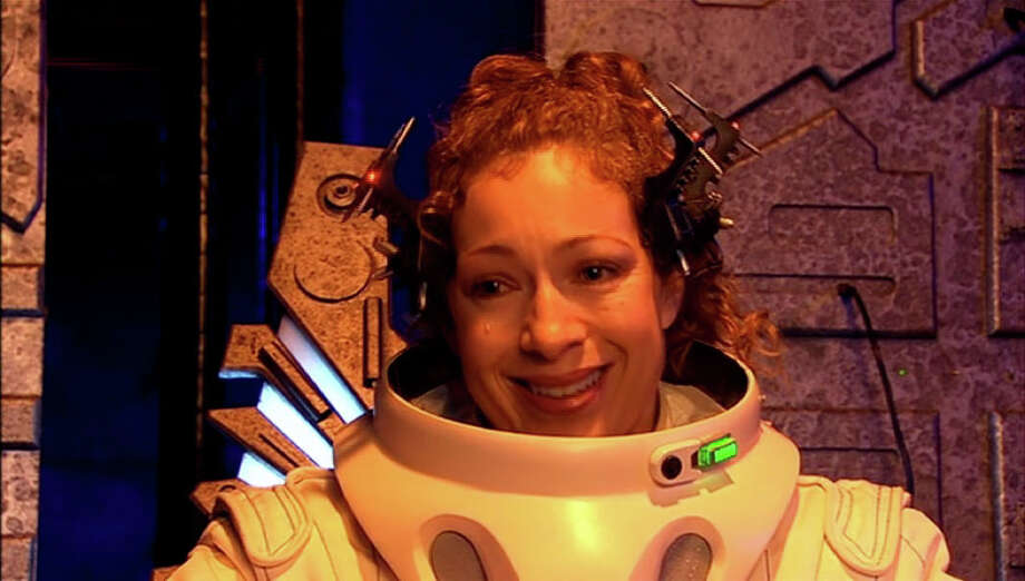 The first episode we see River Song is the same episode she died. None of us knew her too well at this point but looking back...the goodbye is harsh.