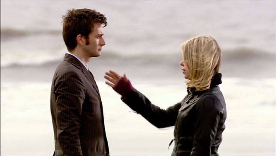 And I suppose, if it's my last chance to say it, Rose Tyler-- One of the MOST heart wrenching moments of Doctor Who, I don't think there's a fan in the world that could forget the goodbye of these two at Bad Wolf's Bay.