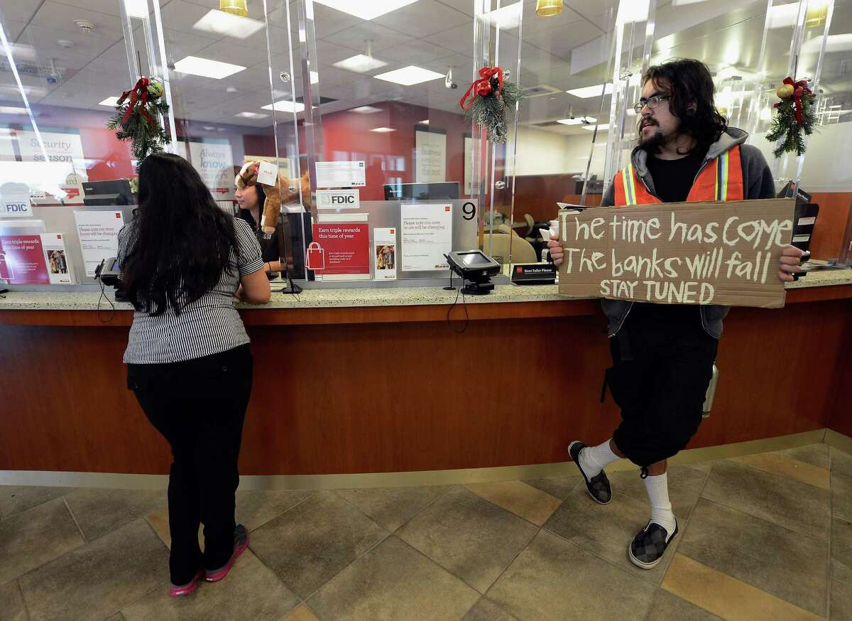 20. Bank tellers: More than 10 percent of tellers surveyed by PayScale wanted a new boss (and probably fewer protesters).