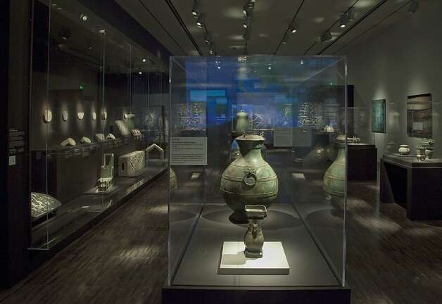 "Bronze ritual objects and other artifacts installed in the Asian Art Museum as part of ""China's Terracotta Warriors: the First Emperor's Legacy"" (spring 2013) Photo: Kaz Tsuruta"