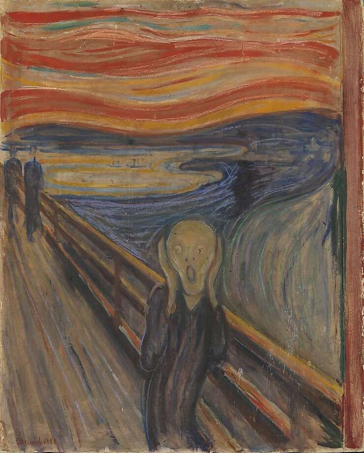 """The 150th anniversary of Edvard Munch's birth is giving """"The Scream"""" fans something to shout about. Photo: B Rre H Stland, National Museum, PR NEWSWIRE"""