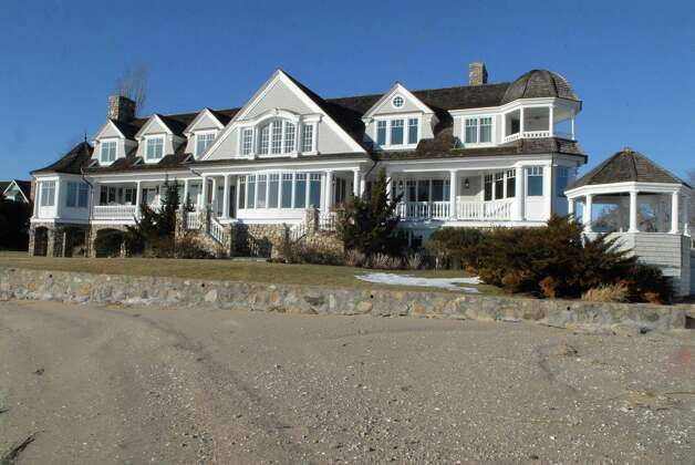 24 Brush Island Road in Darien, Conn. is on the market for $8.6 million and was photographed on February 18, 2013. Photo: Dru Nadler / Stamford Advocate Freelance
