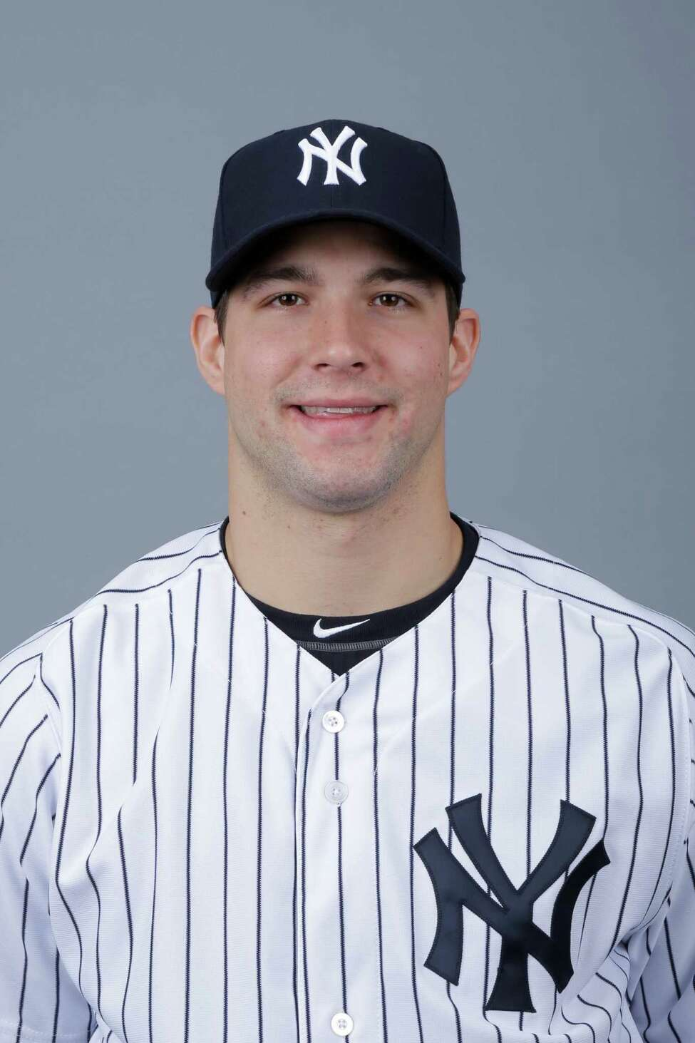 This is a 2013 photo of Tom Kahnle of the New York Yankees baseball team. This image reflects the Yankees' spring training roster as of Wednesday, Feb. 20, 2013, when this image was taken. (AP Photo/Matt Slocum)
