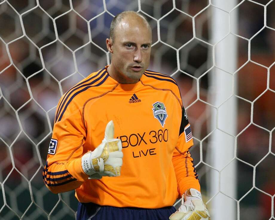 Former Sounders goalkeeper Kasey Keller sometimes wore orange ....