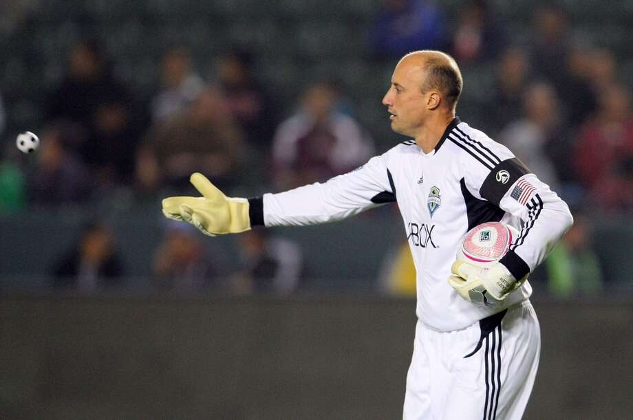Former goalkeeper Kasey Keller was often seen in white during this time.