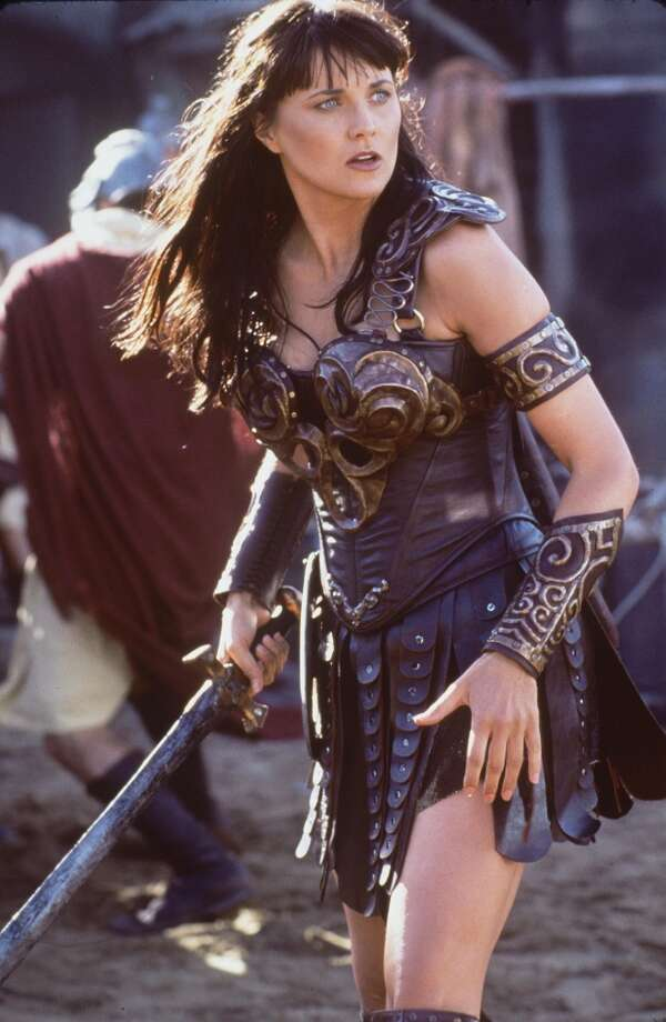 Before Lucy Lawless joined the show, she was already known for starring in ''Xena Warrior Princess'' in the '90s.