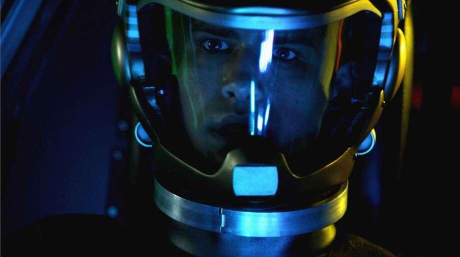Luke Pasqualino as young William Adama.
