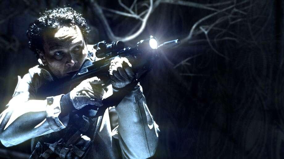 Actor Ben Cotton, as Coker Fasjovik, in ''Blood & Chrome.''