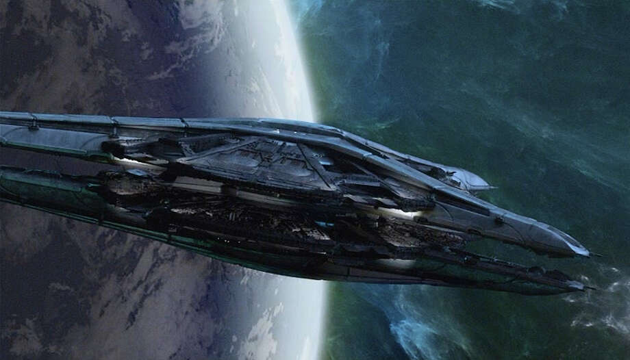 Spacecraft in ''Blood & Chrome.''  Photo: Syfy, Syfy/NBCU Photo Bank / 2013 Syfy Media LLC